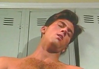 Anal breakthrough as horny muscled jocks fuck hardcore after game