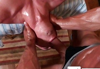 Massagecocks Oily Fondling AssHD