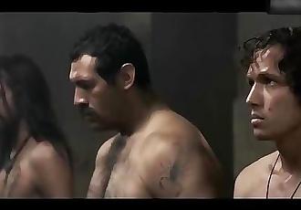 Male Star Adrian Ladron de Guevara Flashing His Dick In Movie