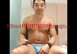 1胡渣大胸黑熟男