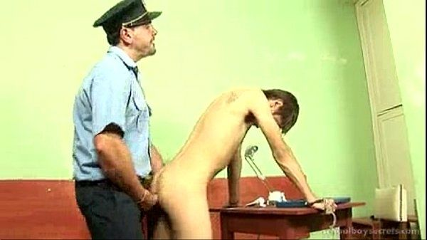 Daddy Cop Arressts Then Fucks Twink