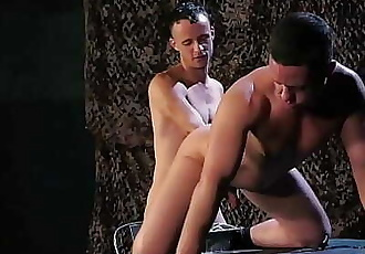ClubInfernoDungeon Kinky Military DILF Extremely Fisted 7 min 1080p