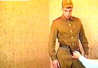 Soviet Army Vintage Gay Video