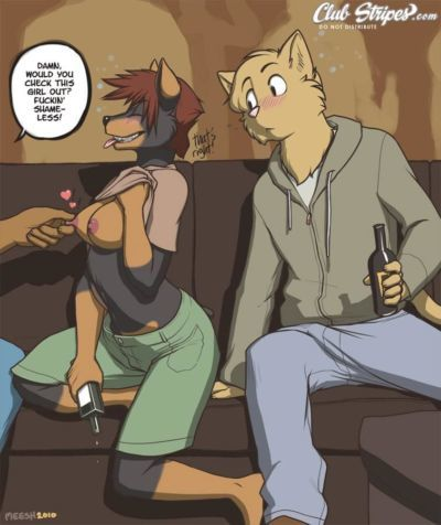 Meesh Short Denise Comic