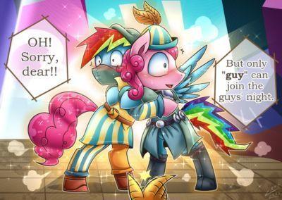 Vavacung Guys Night (My Little Pony: Friendship is Magic)