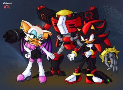 Bladetigerx & Runhurd Shadow of Love (Sonic The Hedgehog)