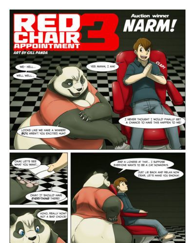 Gillpanda Red Chair Appointment 3