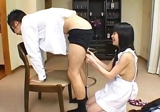 Konomi Sakura licks fellow asshole and is fucked from behind - 10 min