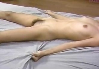 Sexy Petite Asian fucked hard Pompie homemade - 9 min