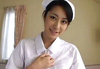 Asian nurse sucking hard on a fat dick pov - 7 min