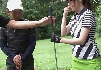 41Ticket - Michiru Tsukino Creampied by Golf Instructor - 5 min HD+