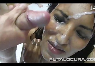 Ethnic Cumshots Compilation 23 - 5 min