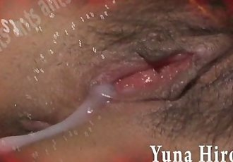 Redhead Asian chick Yuna Hirose gagging a throbbing cock and screwed - 8 min