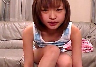 Japanese teen shares her private video - 5 min