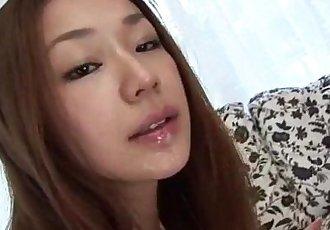 Serina Hayakawa pleases wth her warm lips - 12 min