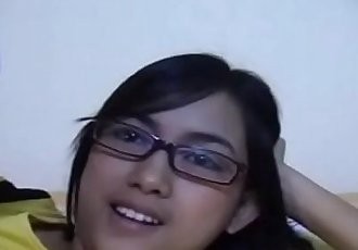 Exclusive Scene Janet Filipino Amateur Teen Babe Massive Tits Glasses - 6 min