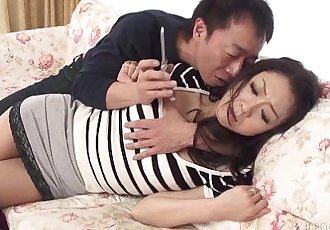 41Ticket - Ruri Hayami Coerced into Sex by Husbands Friend - 5 min HD