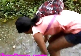 Heather Deep gets creampie on quad in river jungle Trailer - 23 min