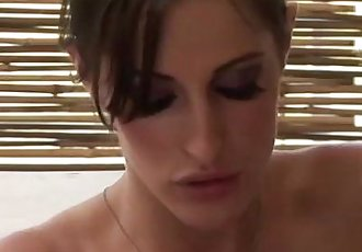 Masseuse babe washes client - 5 min