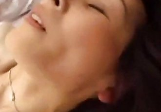Japanese MILF fucked  hard until she screams with orgasms - 8 min