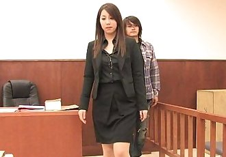 Court Case Reinactment Fuck - 51 min