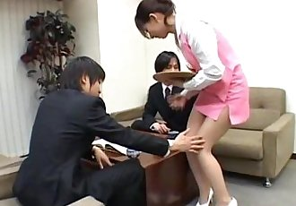 Yuuka Oosawa Office Girl - 8 min