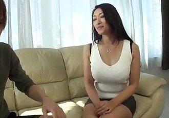 Busty Reiko Kobayakawa wants cock in her tight vag - 10 min