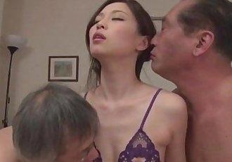 Misaki Yoshimura - Slim Japanese peachy tits - 5 min