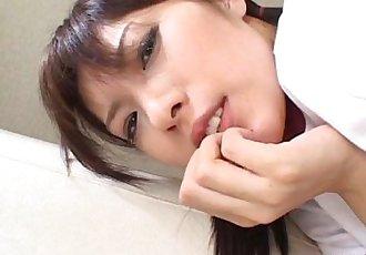 Sexy Riko Tachibana solo masturbation - 5 min