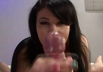 Pov cumshot and handjob - 5 min