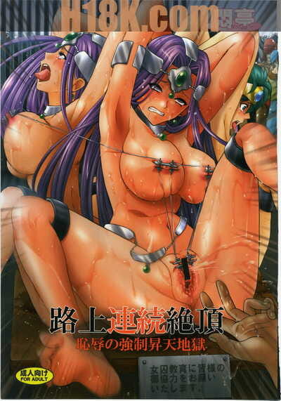 C79 Modae Tei Modaetei Anetarou Rojou Renzoku Zecchou ~Chijoku no Kyousei Shouten Jigoku~ Dragon Quest IV Korean