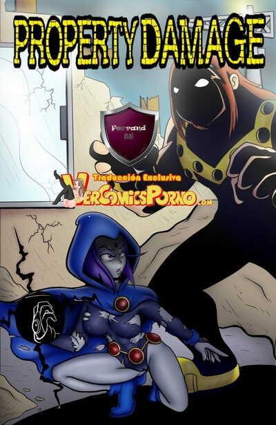 SlashySmiley Daños Publicos / Property Damage Teen Titans Spanish