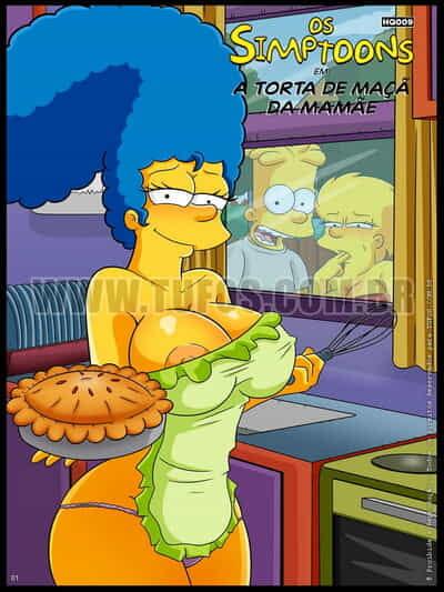 Tufos Croc The Simpsons 9 - Mom's Apple Pie English