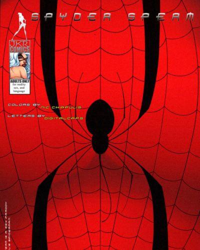 JKRComix Spyder Sperm (Spider-man)