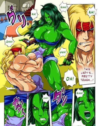 DrZexxck Alex vs. She Hulk
