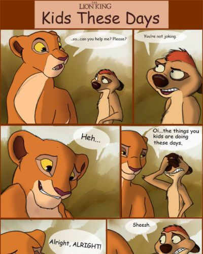 Tuke Kids These Days (The Lion King)