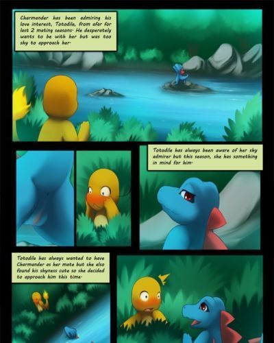 DarkMirage Charmander X Totodile (Pokemon)