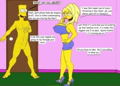 The Fear Never Ending Porn Story (The Simpsons) - part 2