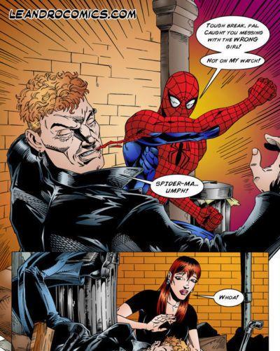 leandro นังสือ spiderman