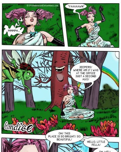 (The Erotic Adventures of Candice) ch11. If You Go Down In The Woods