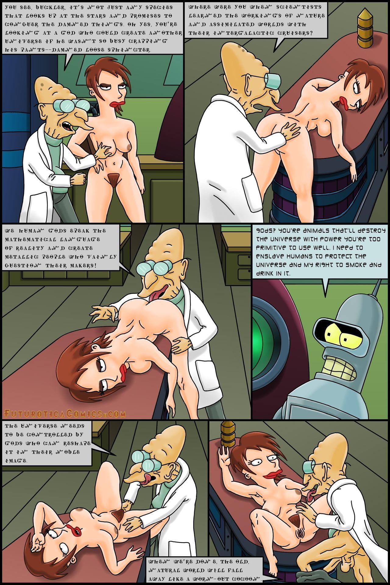 Futurotica Comics (Futurama and Star Trek Parodies)