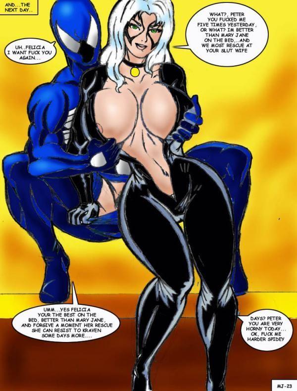 Wolverino Mary Jane XXX (Spider-Man)