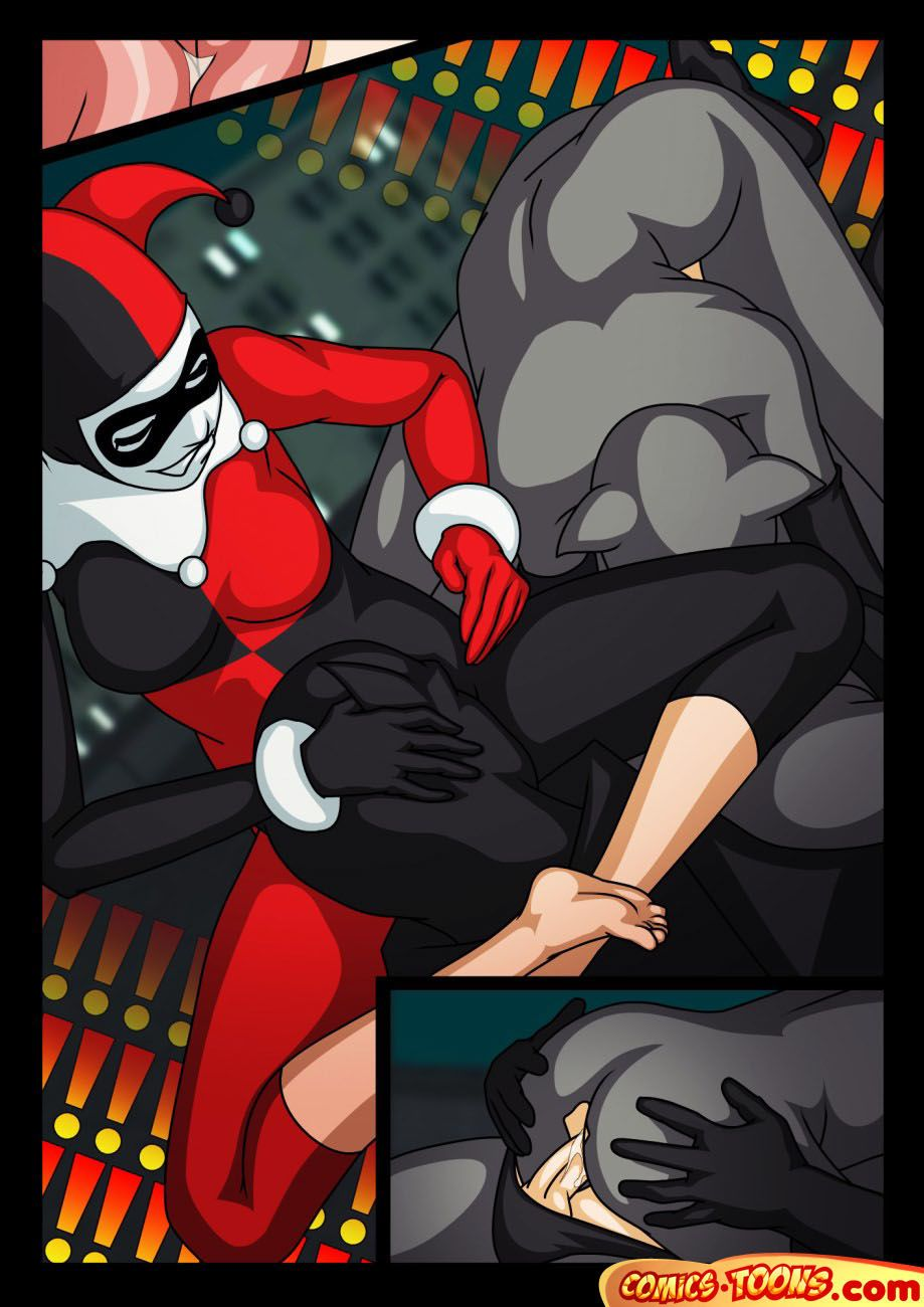 Comics Toons Threesome (Batman)