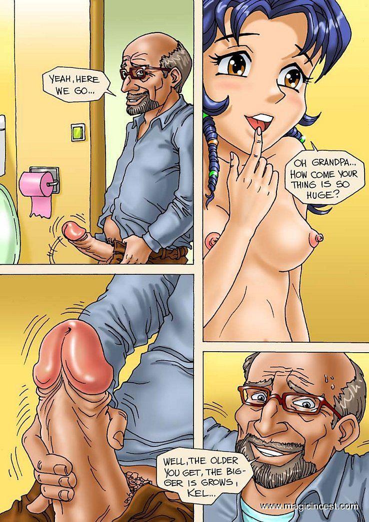 Magic Incest - Ladies prepare a good favor for granny