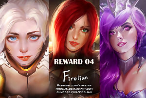 Reward 04 - Mercy- Katarina- Dark Elementalist Lux