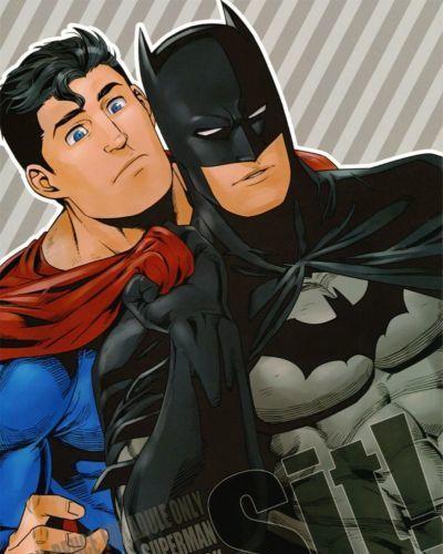 (HaruCC17) Gesuidou Megane (Jiro) Sit! (Batman, Superman)