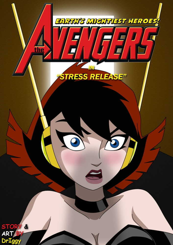 Avengers a comic by driggy. - Stress Release