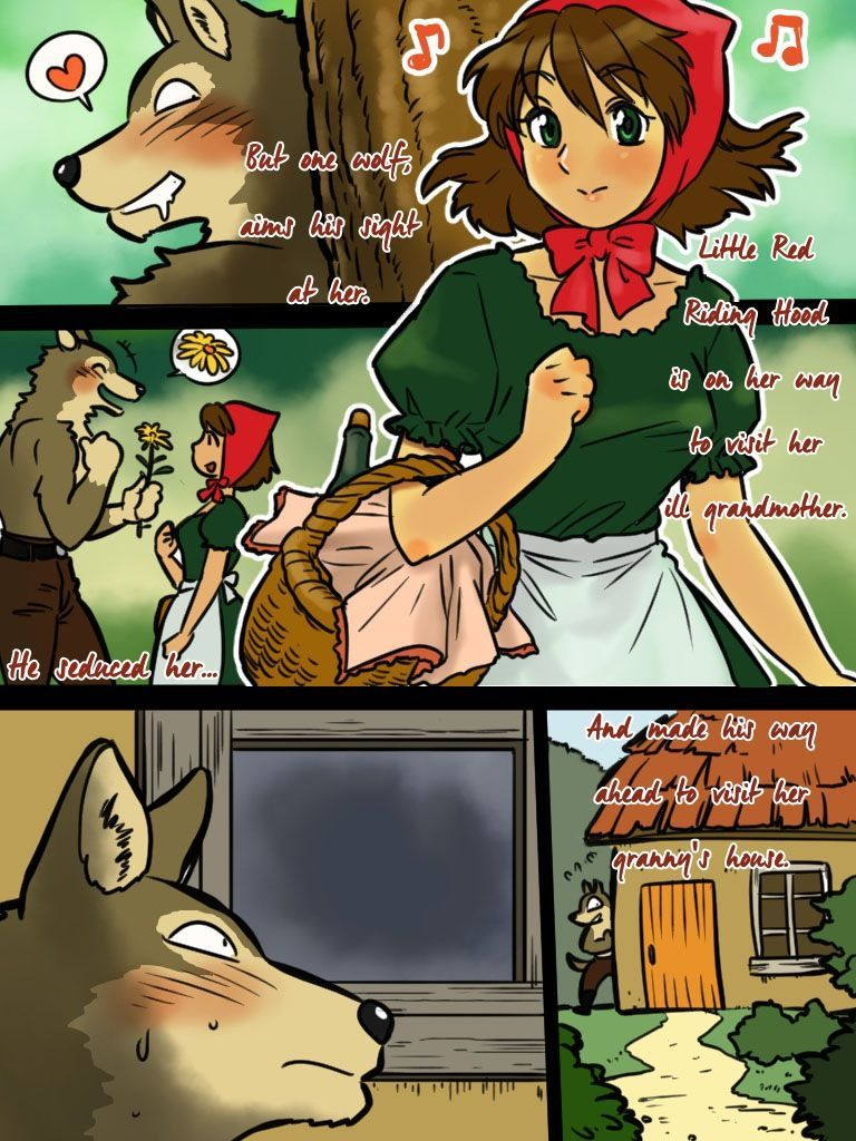 Red riding hood porn comics inquiry answer