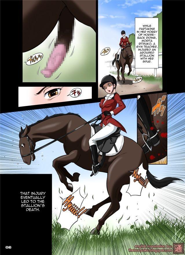 Pferd fickt frau hentai