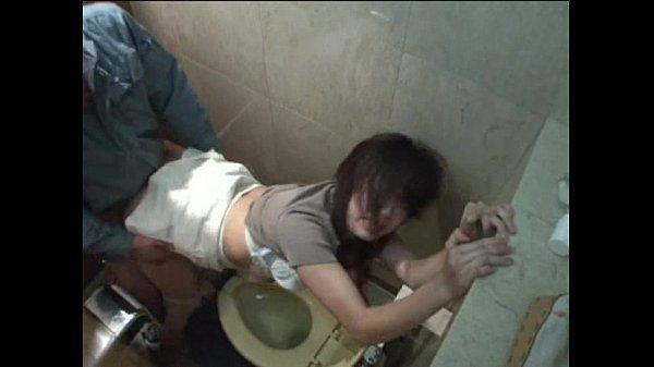 Japanese girl fucked in toilet